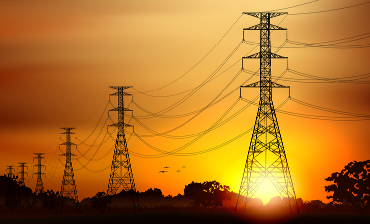 Transmission line modeling helps determine the receiving end voltage and voltage regulation.