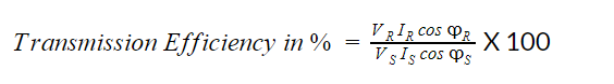 transmission efficiency equation