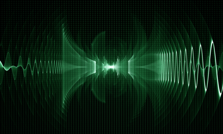 RC phase shift oscillator waveform