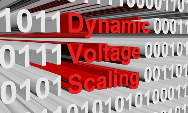 Dynamic Voltage Scaling block text