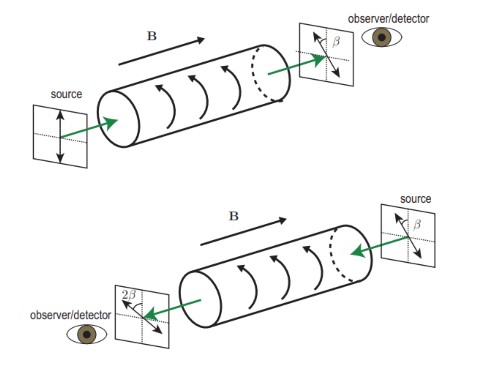 Faraday effect and electromagnetic reciprocity