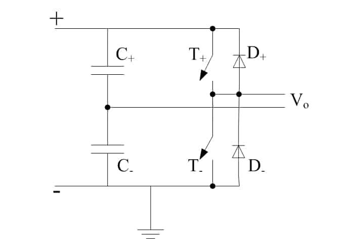 Half-bridge converter topology