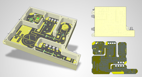 Design of a Complete RF Downconverter Module for Test Equipment
