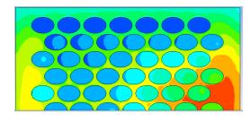 FEA /CFD simulation of elliptical-shaped pin-fin heat sink