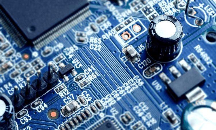 Mixed-signal PCB