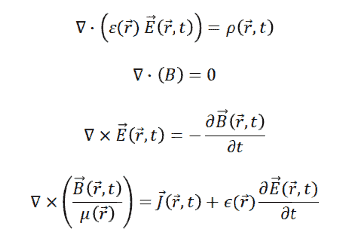 Maxwell's equations for macroscopic media