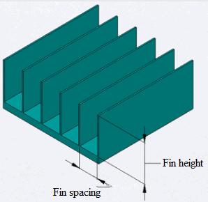 Plate fin-type heat sink