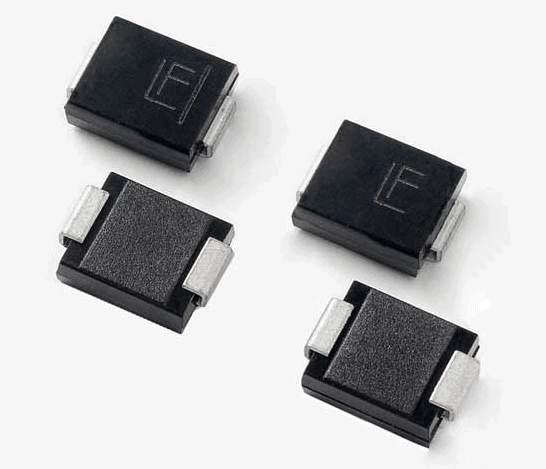 TVS diodes in SMD packages