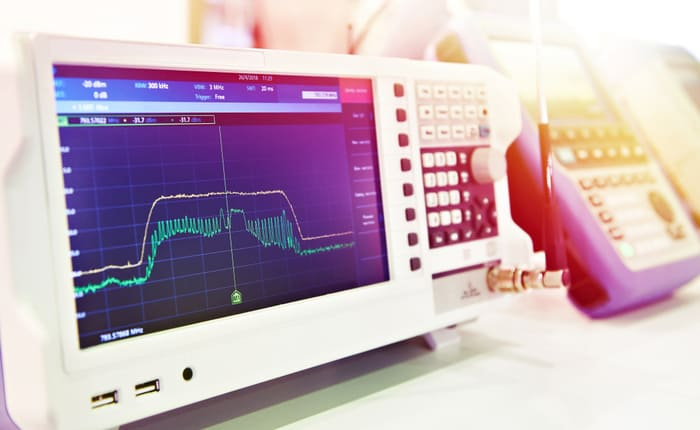 Spectrum analyzer measurement techniques in time and frequency domains