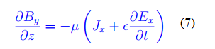 Maxwell's fourth equation, with Ampere's law