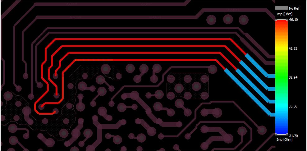 DDR transmission lines in parallel