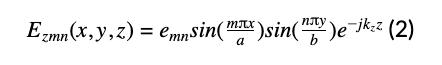 electromagnetic wave propagation