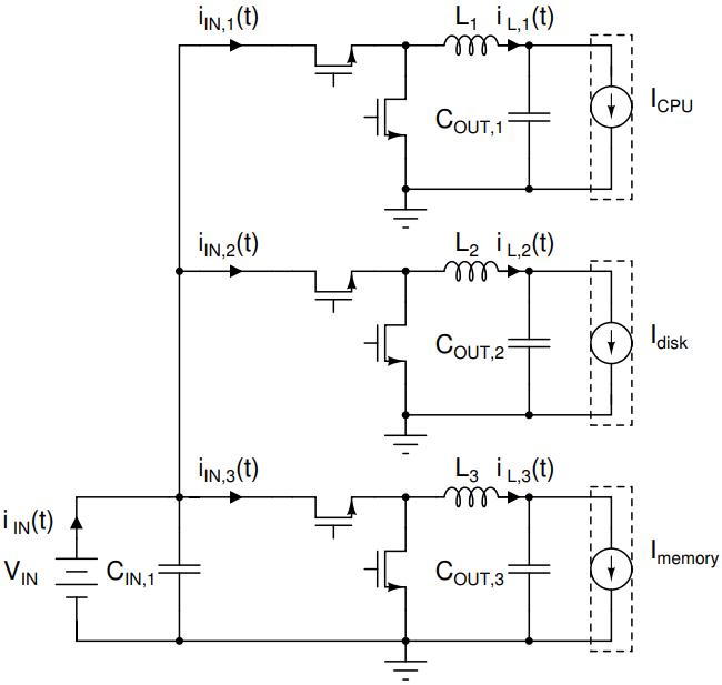 Power converter interleaving