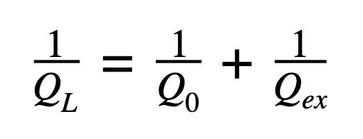 1QL=1Q0+1Qex