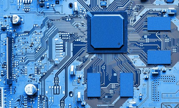 A microwave photonics integrated circuit