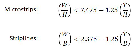PCB trace inductance rule of thumb