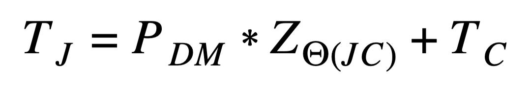 TJ=PDM*Z(JC)+TC