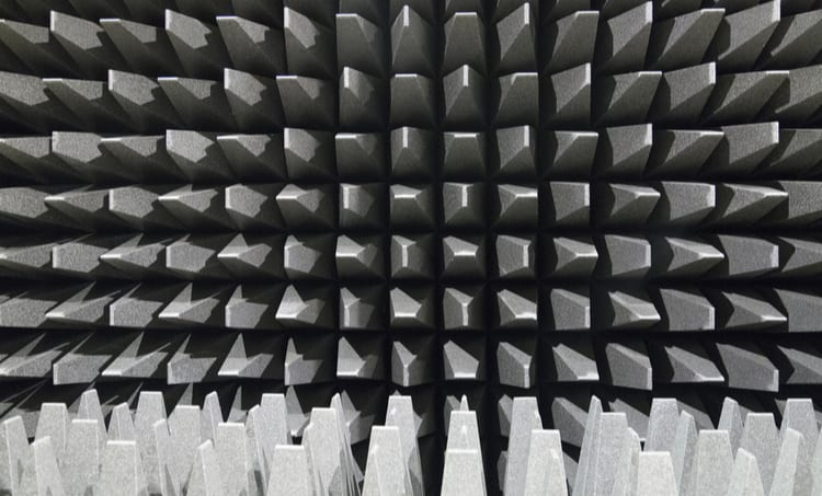 The anechoic chamber