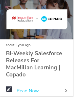 How Macmillan Learning has reached new levels of innovation with Copado