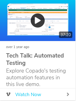 Tech Talk: Automated Testing