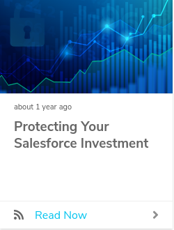 Protecting Your Salesforce Investment