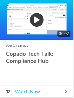 Copado Tech Talk: Compliance Hub