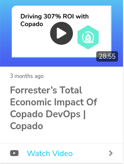 Driving 307% ROI with Copado: A Dive into Forrester's Total Economic Impact of Copado Findings