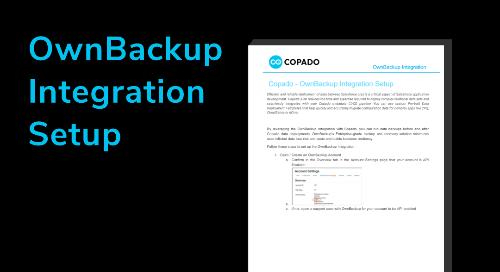OwnBackup Integration Setup