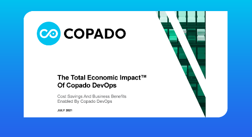 Forrester Consulting Study: The Total Economic Impact™️ of Copado DevOps