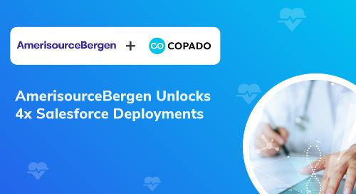 AmerisourceBergen Unlocks 4x Deployments | Copado Resources