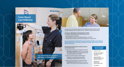 Value-based care solutions