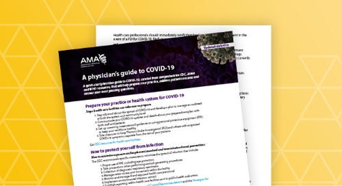 AMA physicians guide to COVID-19