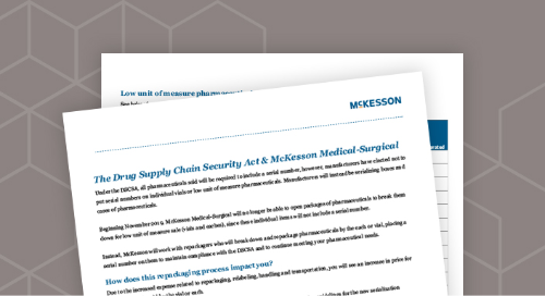 The Drug Supply Chain Security Act & McKesson Medical-Surgical
