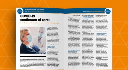 COVID-19 continuum of care