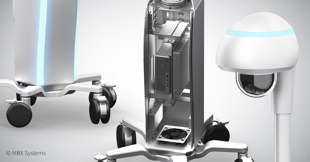 Kori medical alert monitoring cart