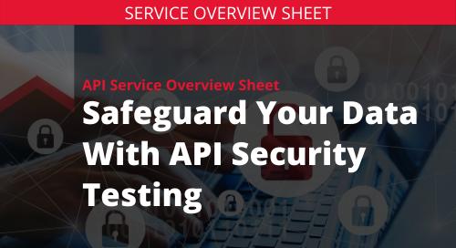 API Sentry Service Overview Sheet