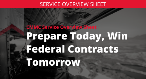 CMMC Service Overview Sheet