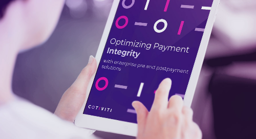 Research: Optimizing payment integrity with enterprise pre and postpayment solutions