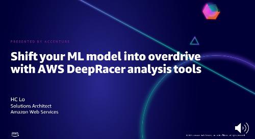 利用 AWS DeepRacer 分析工具幫助你的 ML 模型超速行駛