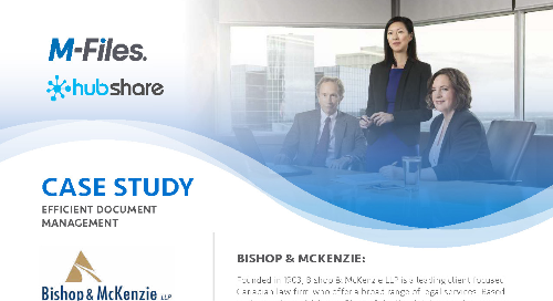 Case Study: Bishop & McKenzie