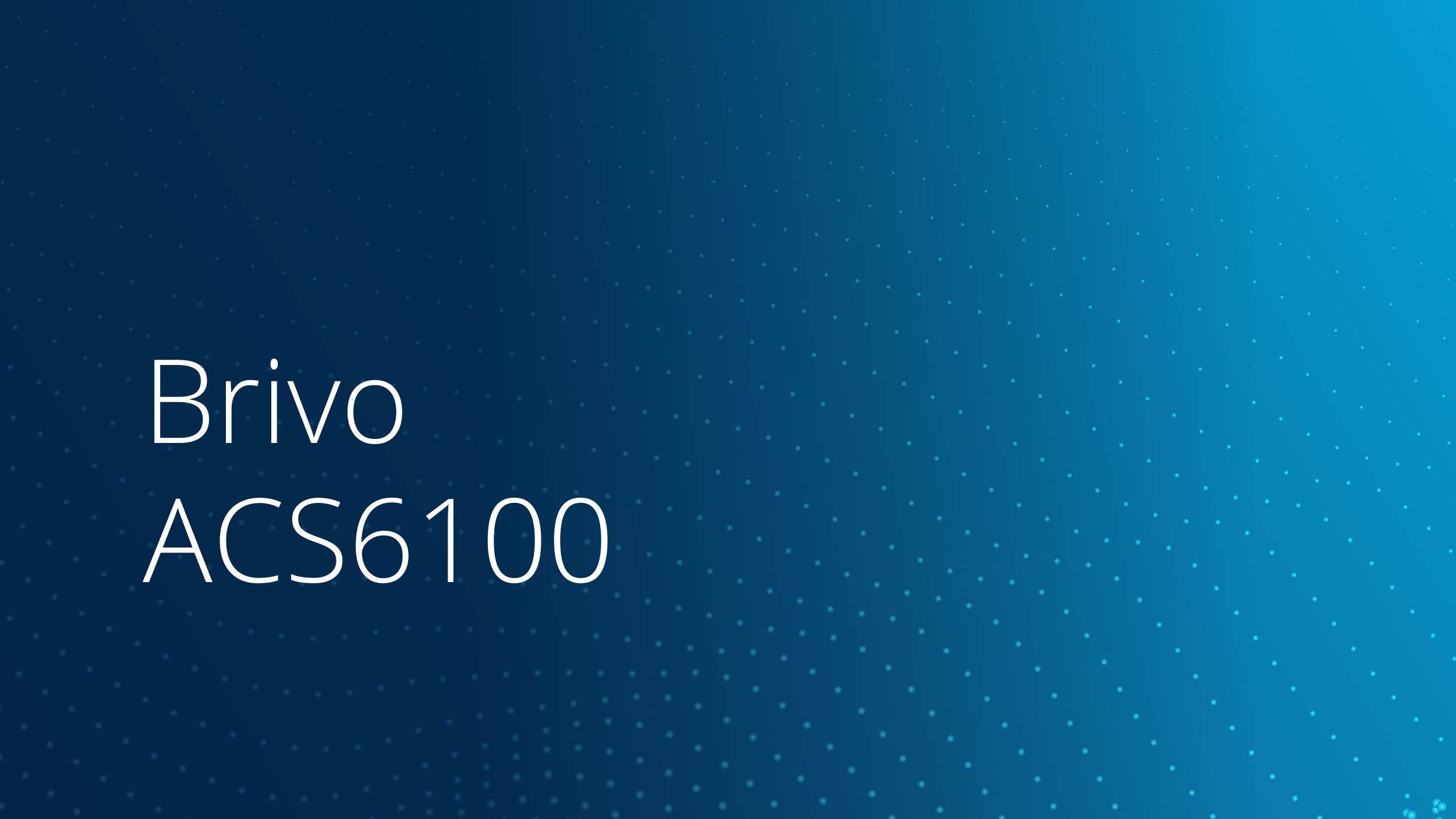 ACS6100 Data Sheet