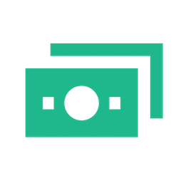 Stack of paper money icon