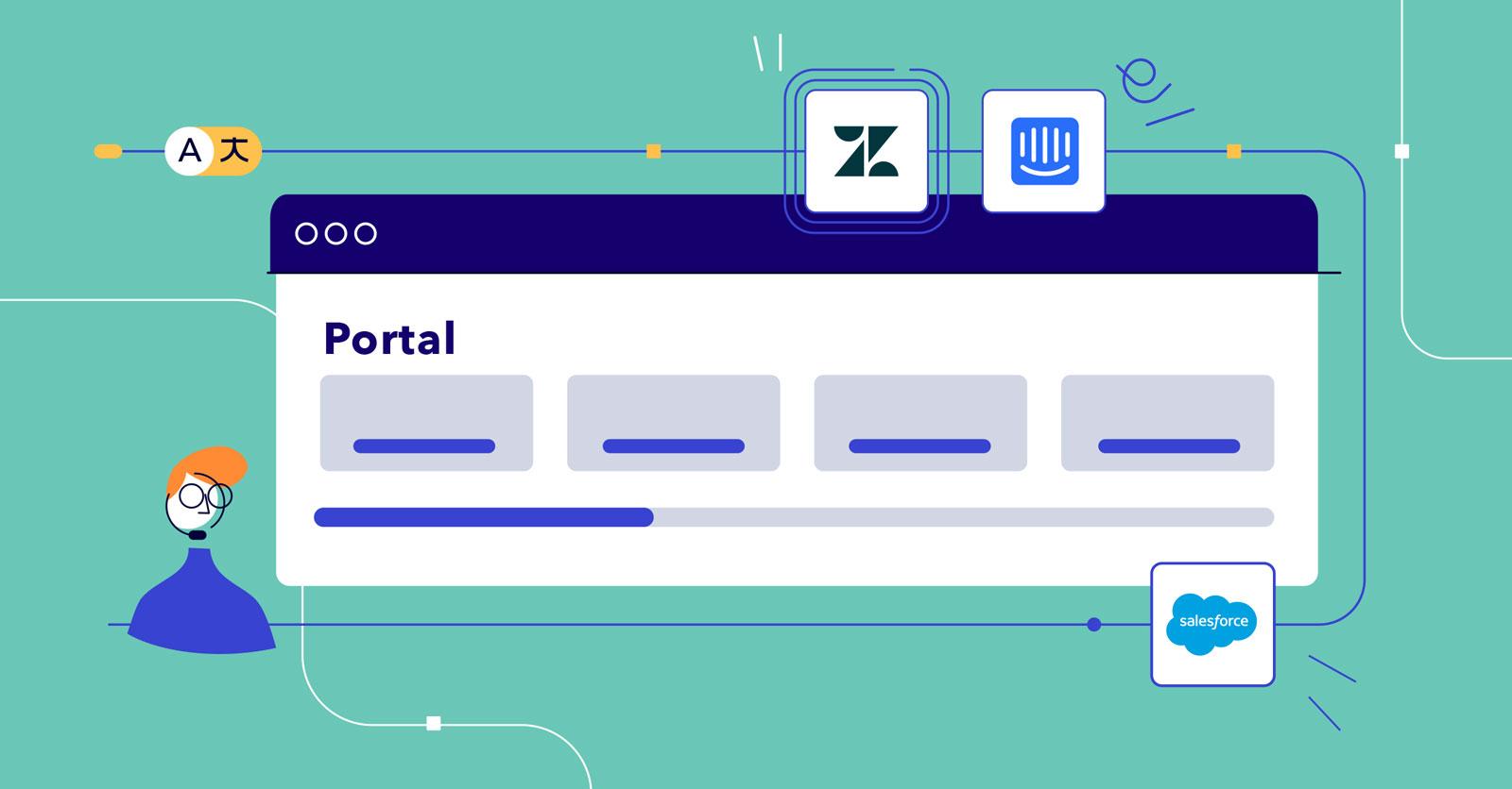 Neues auf Unbabel: Portal- und Integrations-Updates für mehr Freude und Information Supportmitarbeiter