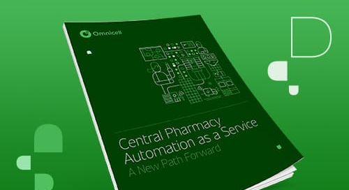 Central Pharmacy Automation as a Service: A New Path Forward