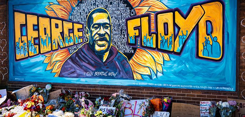 George Floyd Tribute Mural