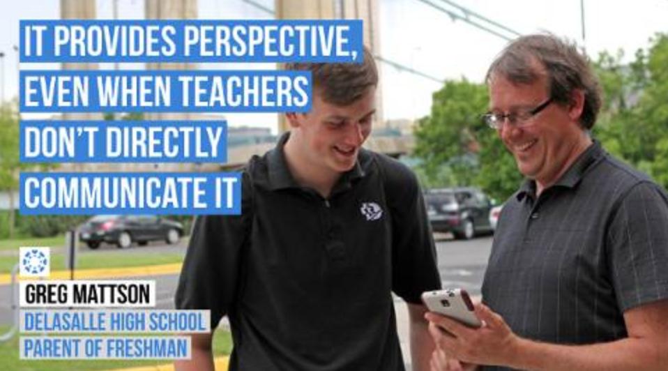 """CANVAS PARENT PROVIDES PERSPECTIVE, EVEN WHEN TEACHERS DON'T DIRECTLY COMMUNICATE ABOUT CLASSROOM PROGRESS."""