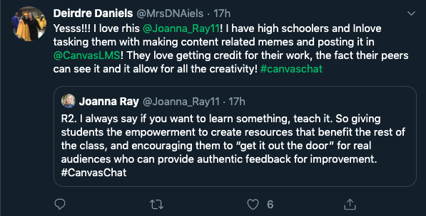 #canvaschat on twitter