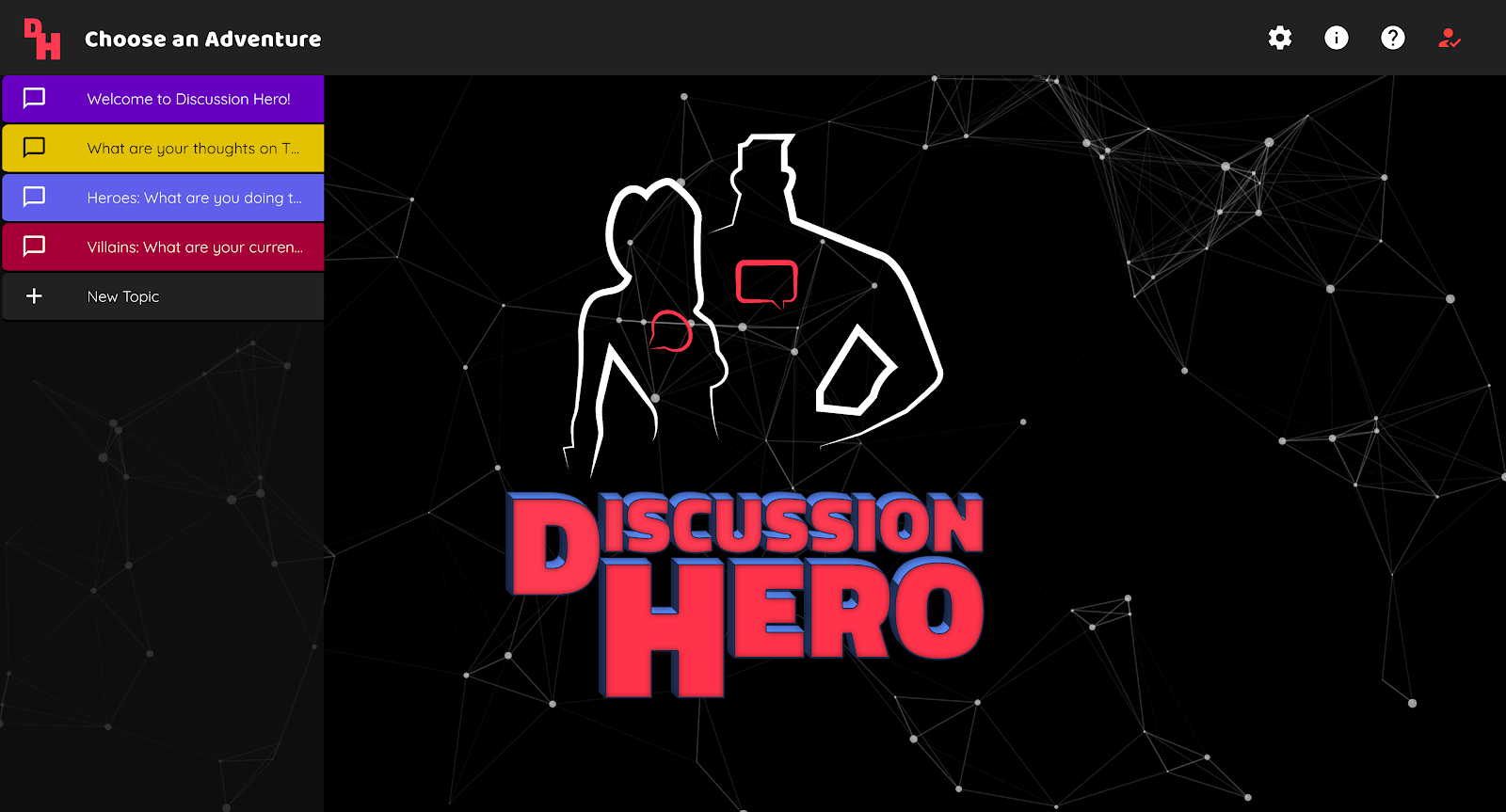 Discussion Hero Homepage