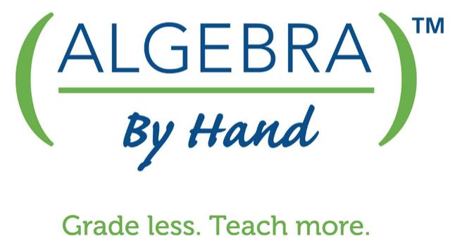 Algebra By Hand
