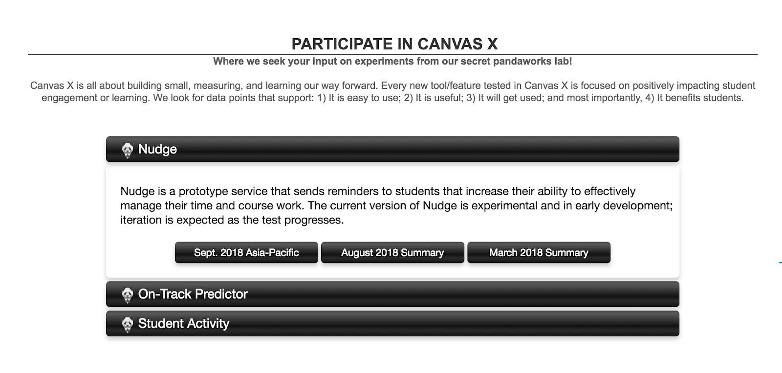 Participate in Canvas X screenshot